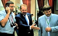 С. Белоусов принял участие вработе Национального лесного форума