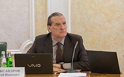 А. Александров выступил намитинге, посвященном 80-летию содня рождения А. Собчака