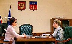 В2019году вМурманске состоится выездное заседание Комитета СФ посоциальной политике— Т.Кусайко