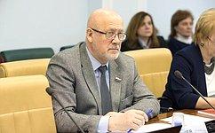 А.Соболев принял участие вработе «круглого стола» повопросам экологической безопасности
