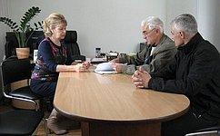 Т.Гигель провела прием граждан вЧойском районе Республики Алтай