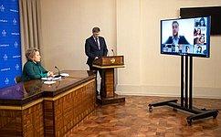В. Матвиенко: Парламентаризм вРоссии стал одним изключевых институтов демократии