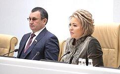 Заложниками провокации Киева вКерченском проливе стали многие граждане Украины– В.Матвиенко