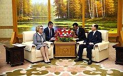 Врамках визита делегации СФ вКНДР обсуждаются пути дальнейшего совершенствования всего комплекса российско-северокорейских отношений— В.Матвиенко