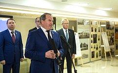 ВСовете Федерации открылась выставка «Московская городская Дума– 25 лет»