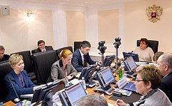 ВСовете Федерации обсудили доктрину дошкольного образования