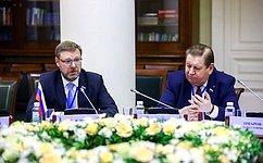 Наплощадке МПА СНГ состоялись заседания постоянных комиссий организации