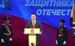 Александр Пронюшкин поздравил представителей силовых ведомств ивооруженных сил Владимирской области сДнем защитника Отечества