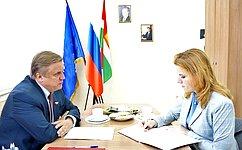 Ю.Волков: Задача государства– обеспечить достойные условия для успешного развития каждого ребенка, живущего внашей стране