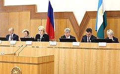 Л. Гумерова провела вУфе совещание пообсуждению предложенных Президентом РФ поправок вКонституцию России