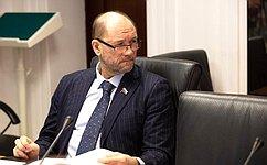 В. Лакунин принял участие взаседании Ученого совета Донского государственного технического университета