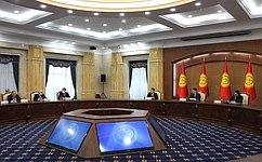 Ф. Мухаметшин: Сенаторы РФ принимают участие вмиссии понаблюдению завыборами Президента Киргизии