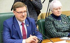 К.Косачев: Российские сенаторы готовы поддерживать регулярные контакты сВерховным Советом Приднестровья