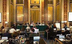 Делегация СФ воглаве сВ.Матвиенко приняла вВене участие вконференции «Политика безопасности ОБСЕ– взгляд состороны женщин»