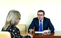 А. Майоров совершил рабочую поездку вРеспублику Калмыкия
