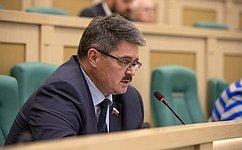 А. Широков рассказал обитогах работы вкачестве полномочного представителя СФ вЦентральной избирательной комиссии РФ в2018году