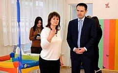 М. Хапсироков посетил Республиканский дом ребенка вМайкопе