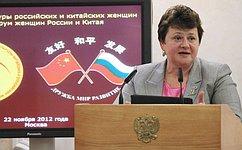 ВМоскве открылась седьмая Неделя культуры российских икитайских женщин ипятый Форум женщин России иКитая