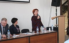 Н. Болтенко: Важно сохранить библиотеки— очаг культуры населе