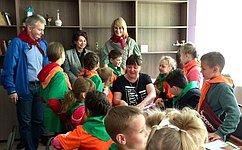 Н.Косихина иИ.Каграманян посетили детские оздоровительные лагеря вЯрославской области