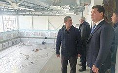 А. Чернышев: Строительство бассейна Братского университета выходит назавершающий этап