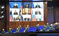 Председатель СФ приняла участие врасширенном заседании Коллегии Министерства обороны России