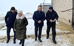 О. Алексеев посетил Марксовский район Саратовской области