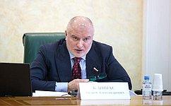 А. Клишас: Необходимо усилить меры парламентского контроля попроблемам, обозначенным Генеральным прокурором РФ
