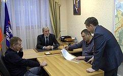 А. Ермаков встретился сдепутатами Законодательного собрания Ямало-Ненецкого АО