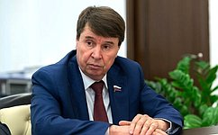 С. Цеков: Молодые соотечественники могут стать эффективным звеном, соединяющим Россию срусским зарубежьем