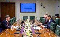 ВСовете Федерации выступают заактивное развитие российско-венгерских межпарламентских связей— К.Косачев