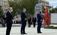ВКраснодаре почтили память героев Великой Отечественной Войны