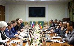 Россия иЭфиопия выступают задальнейшую активизацию межпарламентских отношений
