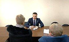 А. Пронюшкин: Главное для меня— добиться результата при решении поднятых гражданами вопросов