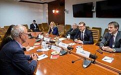 К. Косачев иТини Кокс обсудили состояние иперспективы отношений России иСовета Европы