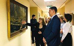 ВСовете Федерации открылась выставка живописи Н.Тернаковой