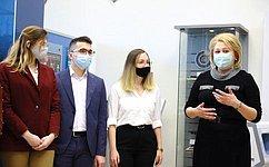 Л.Гумерова вДень российской науки встретилась состудентами имолодыми учеными МГТУ имени Н.Э.Баумана