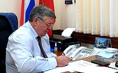 В. Семенов: Наша задача— наоснове обращений граждан сформировать конкретные законотворческие предложения