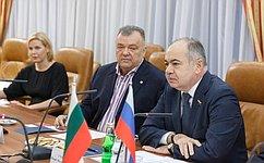 Вице-спикер СФ И. Умаханов провел встречу слидером болгарской партии «Атака» В. Сидеровым