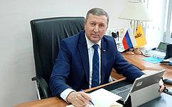 С. Березкин принял участие взаседании оргкомитета поподготовке празднования 800-летия содня рождения князя Александра Невского