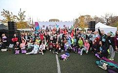ВСанкт-Петербурге врамках Третьего Евразийского женского форума состоялся Женский забег