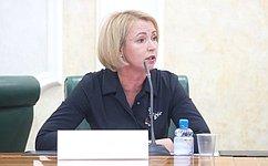 И. Гехт встретилась спредставителями Палаты молодых законодателей при Совете Федерации