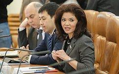О. Белоконь провела встречи вКызыле врамках подготовки кМеждународному форуму «Интеллектуальное золото Евразии»