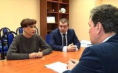 Т.Кусайко провела встречу сруководством Ковдорского филиала Мончегорской центральной районной больницы