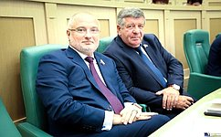 А. Клишас иВ.Семенов приняли участие вцеремонии вступления вдолжность губернатора Красноярского края