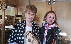 Т. Гигель встретилась смастерами сувенирной продукции Турочакского района Республики Алтай