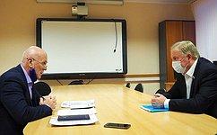 В. Наговицын провел ряд совещаний сруководством Республики Бурятия