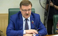 ВСовете Федерации прошел «круглый стол», посвященный вопросам формирования системы государственной поддержки экспорта вРоссии