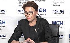 Т. Кусайко: Закон предполагает наделить регионы полномочиями поорганизации специализированных учреждений