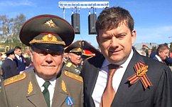 Н. Журавлев принял участие впраздничных мероприятиях, посвященных Дню Победы вКостроме
